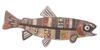 Metal Fish Wall Plaque
