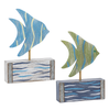 Rustic Shore - Fish Figurines