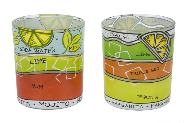 Tropical Recipe Glasses (Sold Separately)