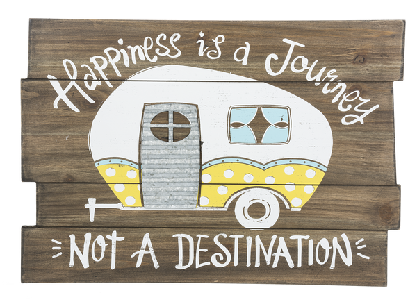 Plaque - Happiness is A Journey