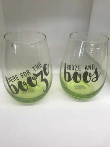 Spirits & Spells Stemless Wine Glasses