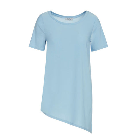 Baby Blue Asymmetric Magic Shirt