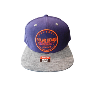 Adult Heathered Flatbrim Snapback