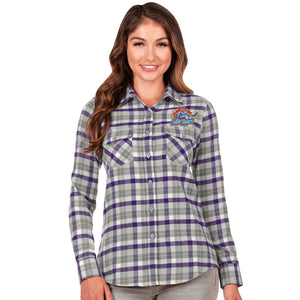 Women's LS Instinct Flannel Shirt