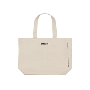 RPXVKXCRTS // TOTE BAG (NATURAL)