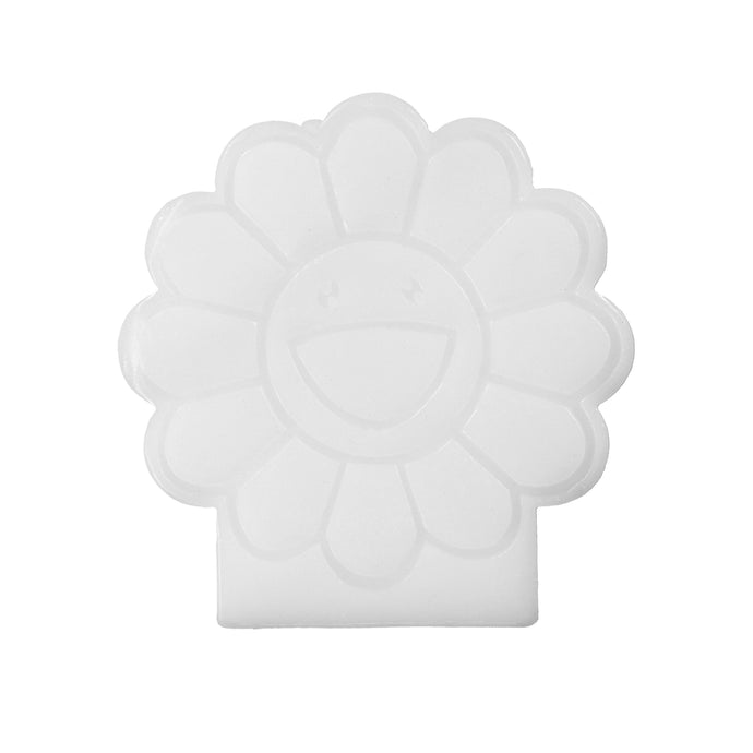 FLOWER CANDLE (WHITE)