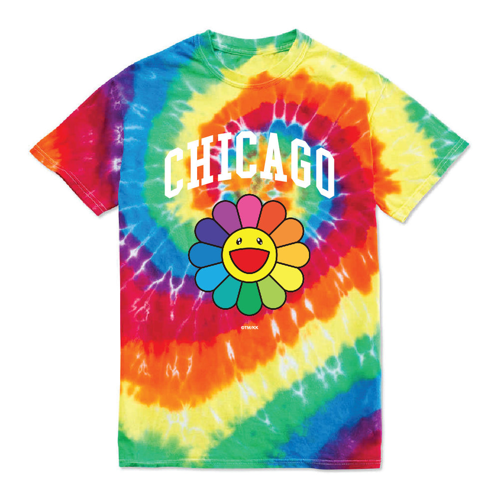 Flower T Shirt // Tye Dye