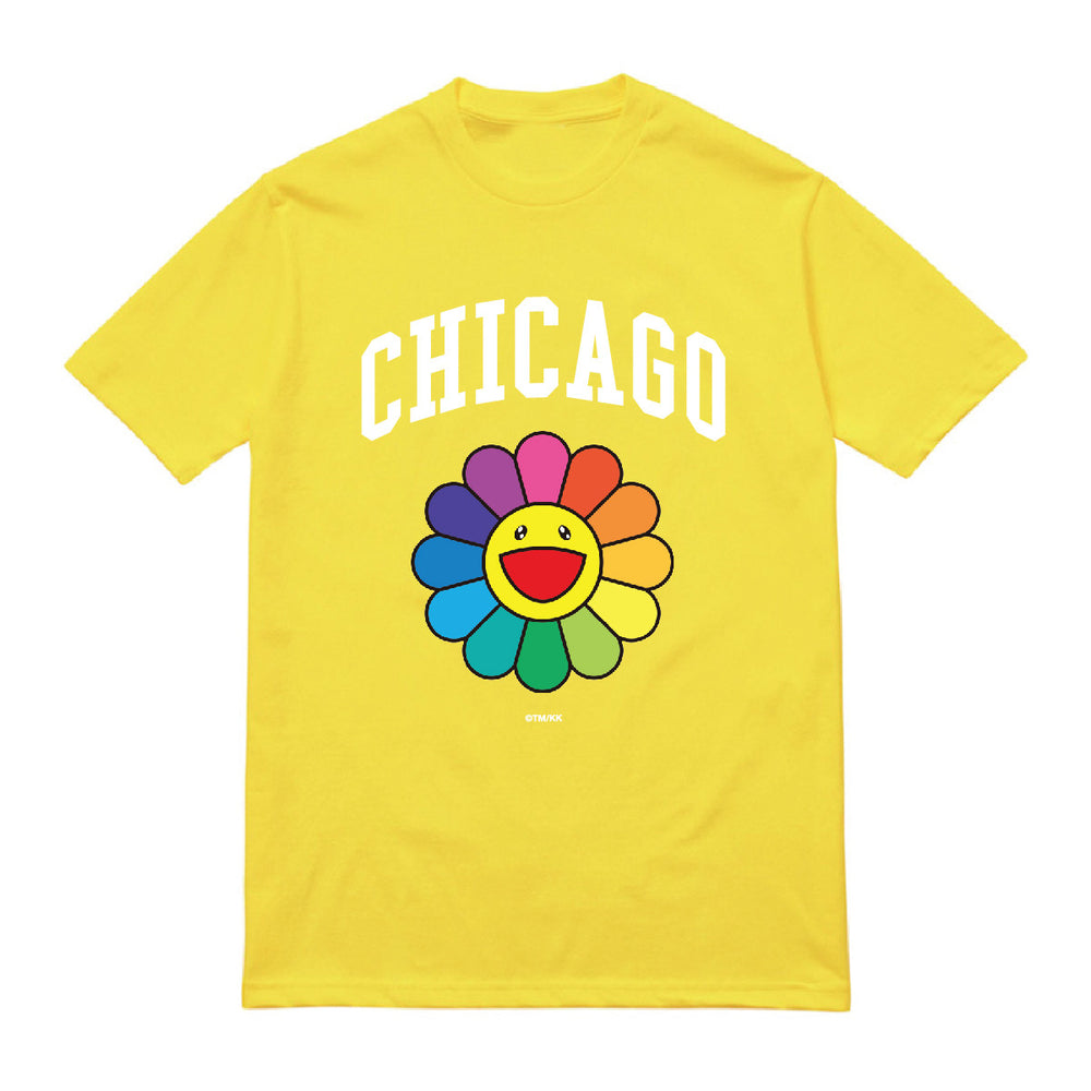 Flower T Shirt // Yellow