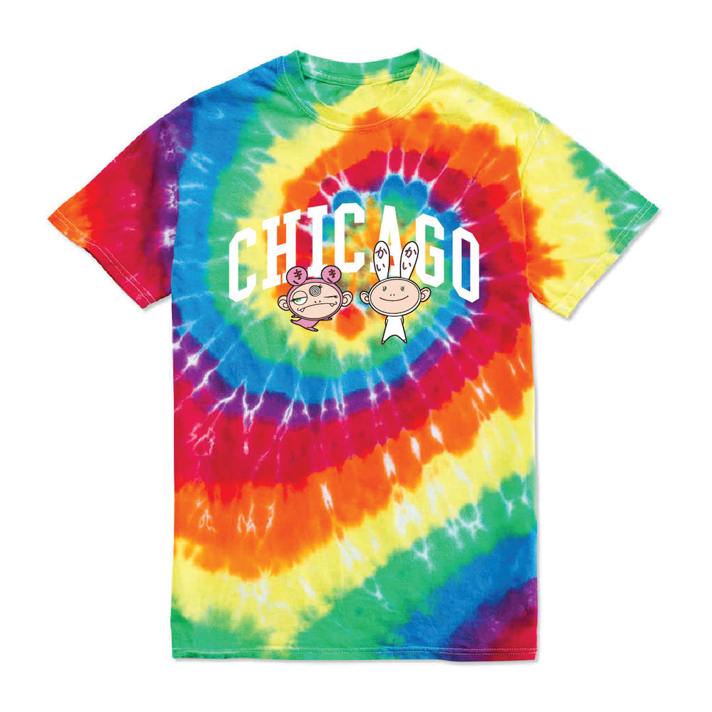 Friends T Shirt // Tye Dye