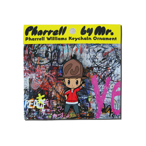 Pharrell By Mr. Key Chain (Yellow)