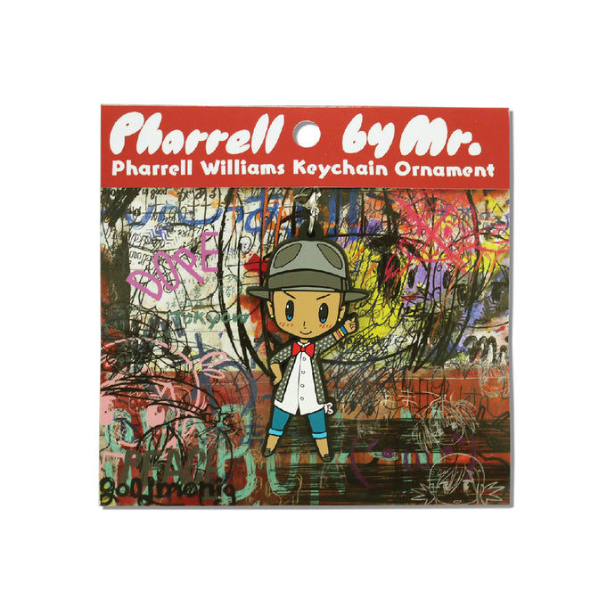 PHARRELL BY MR. KEY CHAIN (RED)