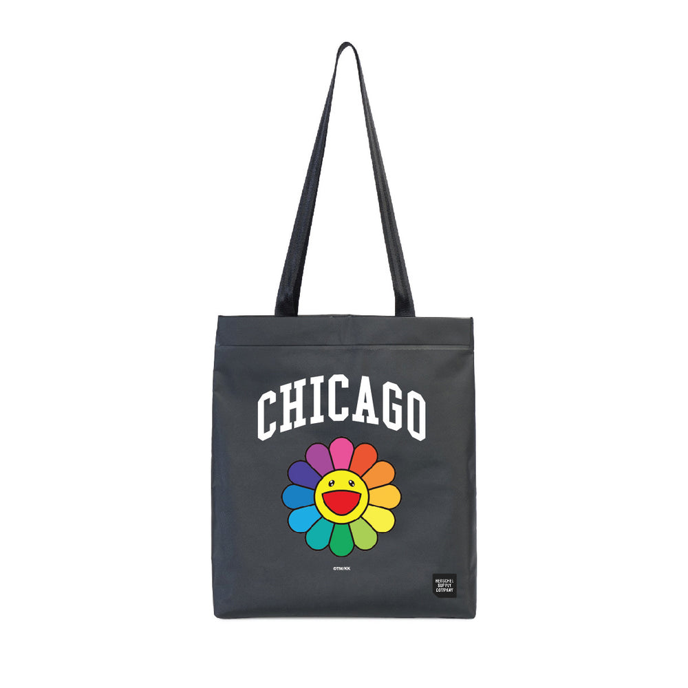 Flower Tote Bag // Black