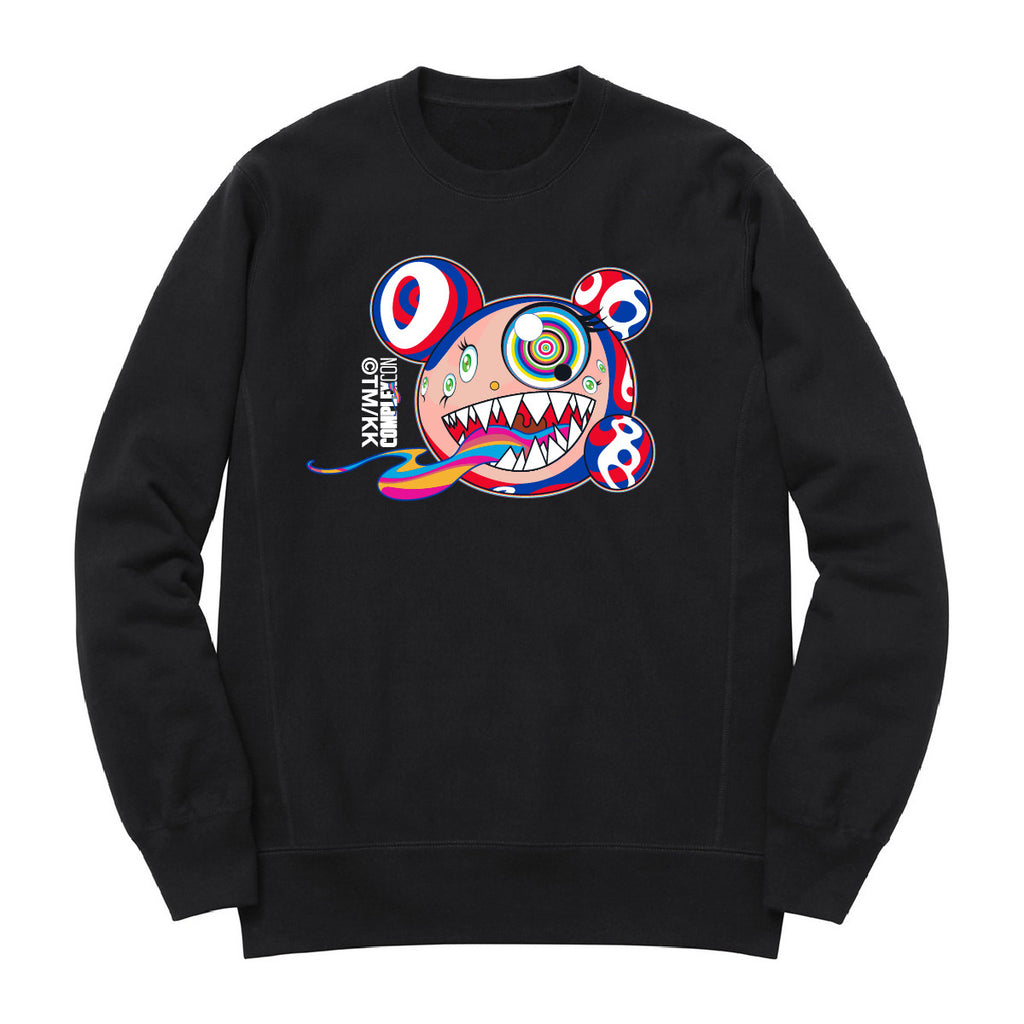 Character Crew Neck // Black