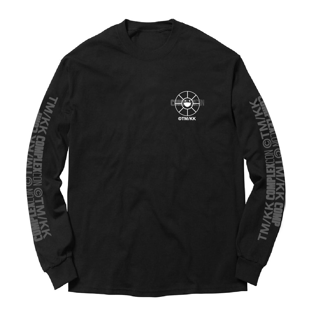Flower Long Sleeve // Black