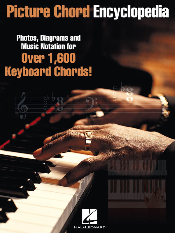 "Picture Chord Encyclopedia For Keyboard 9"" x 12"" Edition"