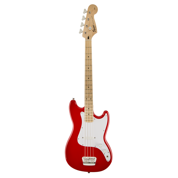 Squier Bronco 4 String Electric Bass - Torino Red