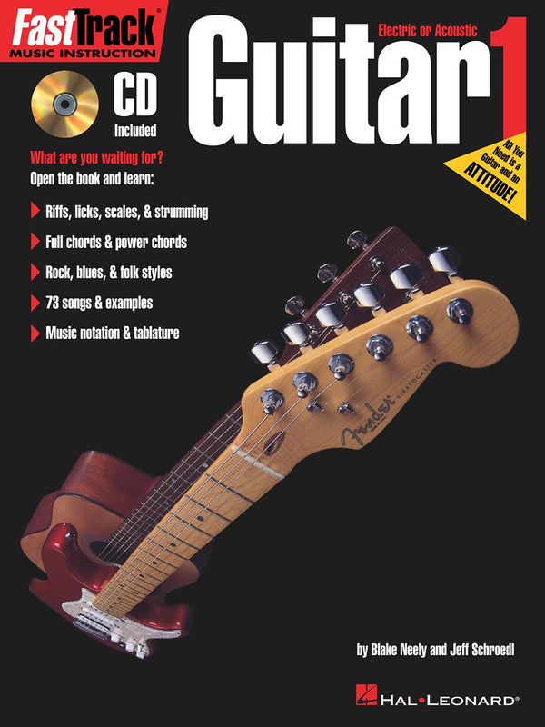 FastTrack Guitar Method Book 1
