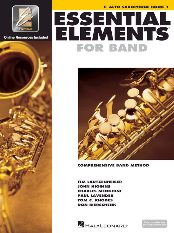 Essential Elements For Band - Eb Alto Saxophone Book 1