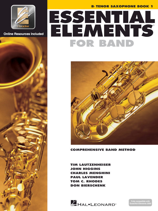 Essential Elements For Band - Tenor Saxophone Book 1