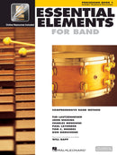 Essential Elements For Band Percussion Book 1 Includes Keyboard percussion