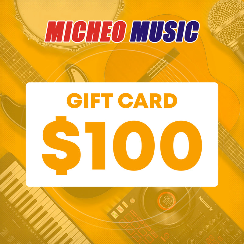 Micheo Music - Gift Card