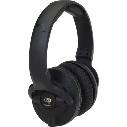 KRK KNS 6400 Closed-Back Around-Ear Stereo Headphones
