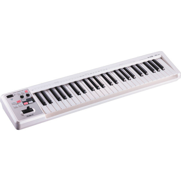 Roland A-49 MIDI Keyboard Controller White