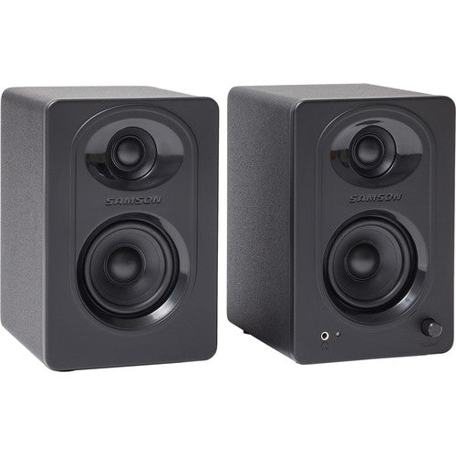 Samson MediaOne M30 Powered Studio Monitors (Pair)