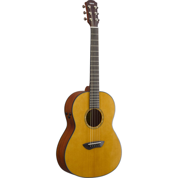 Yamaha CSF-TA TransAcoustic Parlor Acoustic-Electric Guitar Vintage Natural