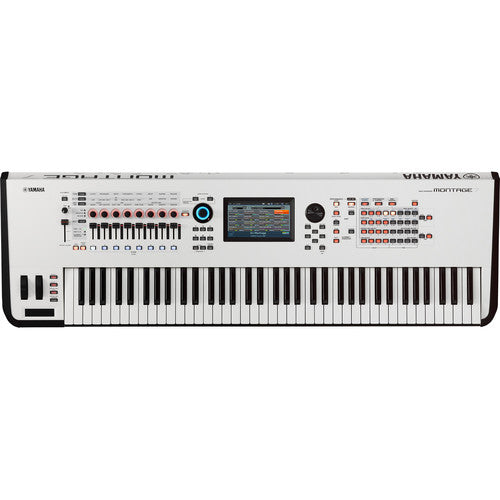 Yamaha Montage 7 - 76-Key Workstation Synthesizer (White)