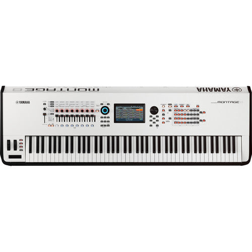 Yamaha Montage 8 - 88-Key Workstation Synthesizer (White)