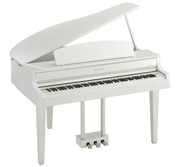 Yamaha Clavinova CLP-665GP Digital Grand Piano with Bench - Polished White