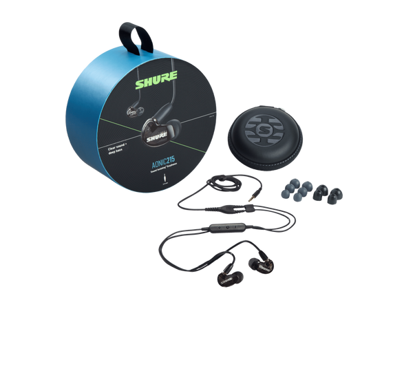 Shure AONIC 215 Sound Isolating™ Earphones - Black