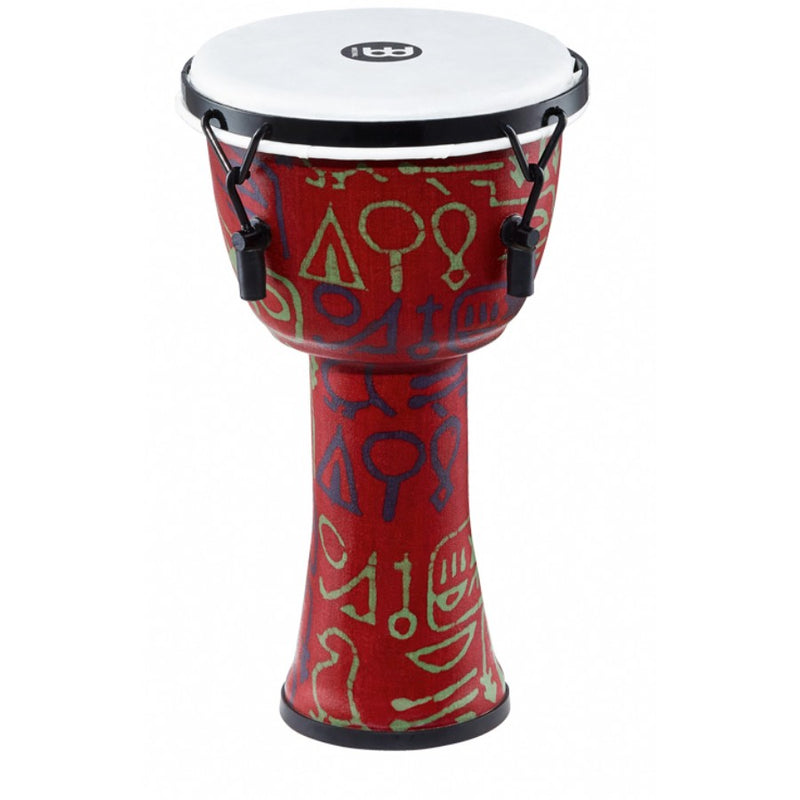 "Meinl Mechanically Tuned 14"" Travel Series Pharaoh Script Djembe"
