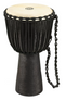 Meinl African Style Djembe Drum X-Large Black River Carved