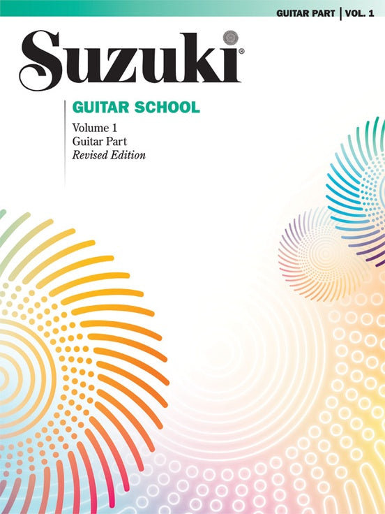 Suzuki Guitar School Guitar Part Volume 1