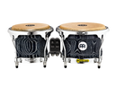 "Woodcraft Series WB400 Wood Bongos 7"" & 8 1/2"", Vintage Black"