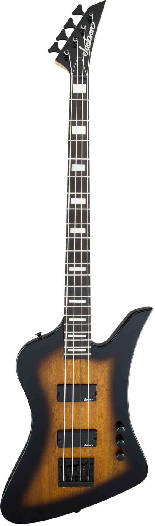 Jackson JS Series Kelly Bird Bass IV JS2 4-String Electric Bass - Tobacco Burst