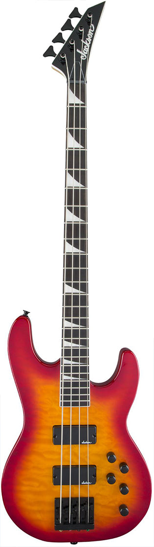 Jackson JS3Q Concert Electric Bass Guitar - Cherry Burst