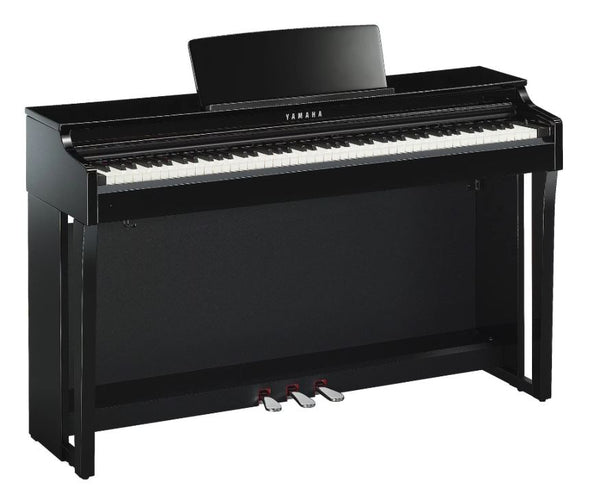 Yamaha Clavinova CLP-625 Digital Upright Piano with Bench - Polished Ebony
