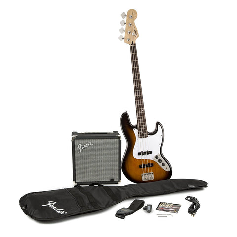 SQUIER by FENDER Jazz Bass PackageE V3, Sunburst
