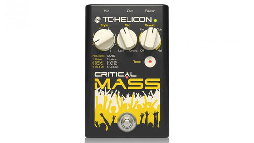 Critical Mass - Large Group Vocal Sound Effects Pedal