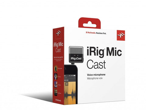 IK Multimedia iRig Mic Cast iOS Microphone