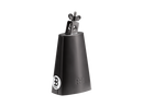 Black Powder Coated Steel Cowbell, 6 3/4-Inch