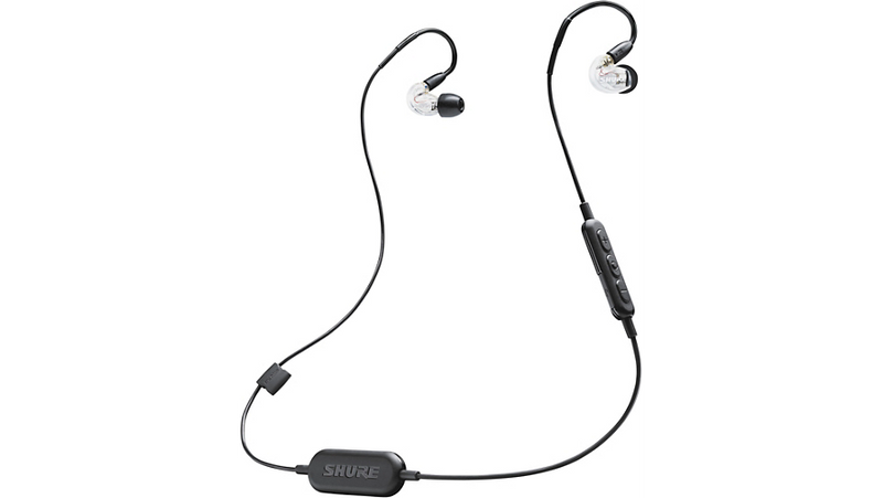 Shure SE215-CL-BT1 Wireless Sound Isolating Earphones with Bluetooth