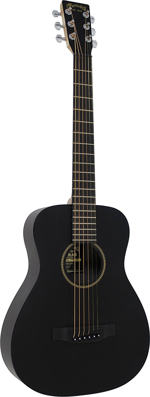 LX Black Little Martin Acoustic Guitar