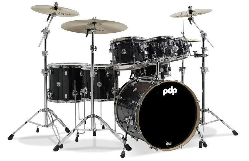 PDP Concept Maple Shell Pack - 7-piece - Ebony Stain