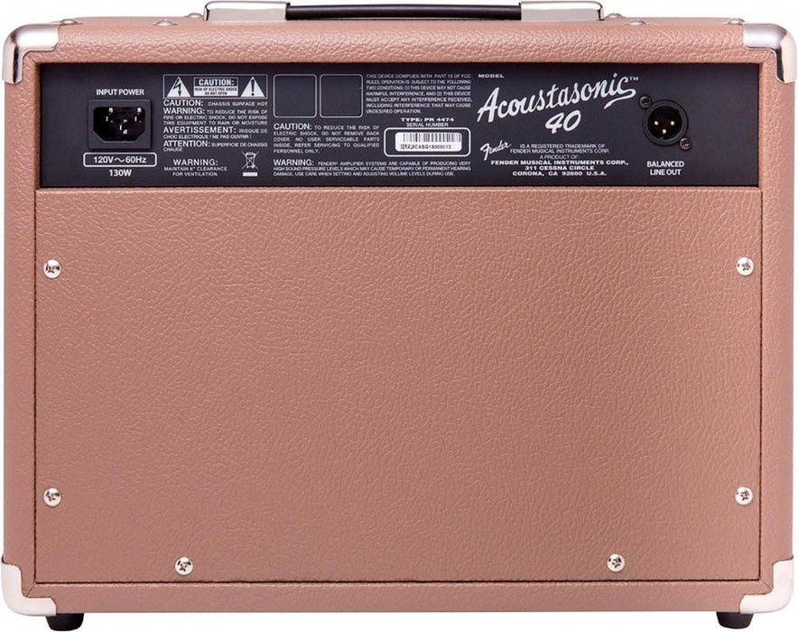 Acoustasonic 40 40W 2x6.5 Acoustic Guitar Amplifier