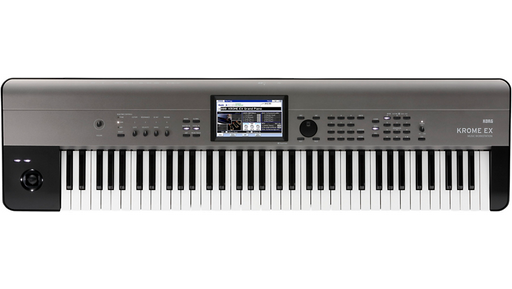 Korg KROME EX 73-Key Music Workstation Black