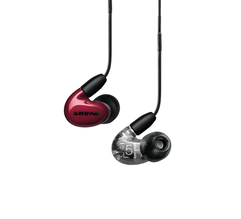 Shure Triple-Driver AONIC 5 Sound Isolating™ Earphones - Red